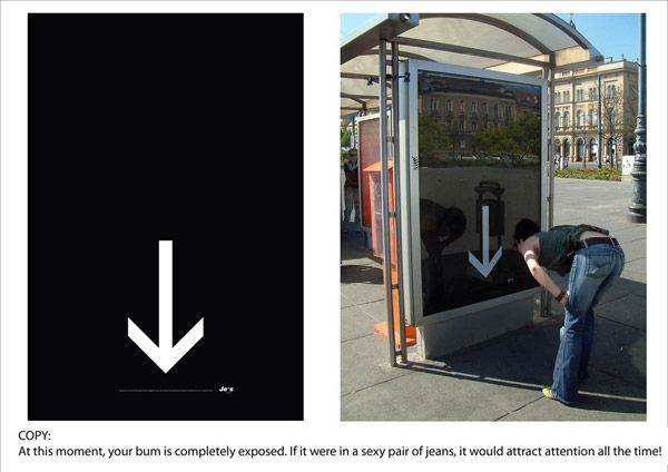 Cool and creative bus stop ads.