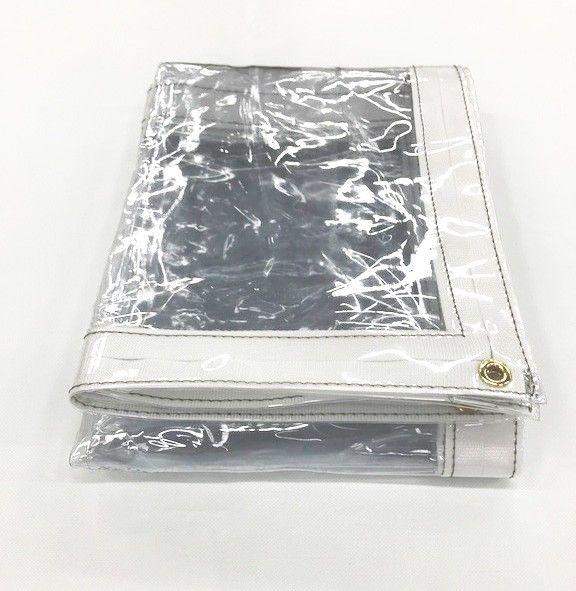 Clear Vinyl Tarps 20 Mil Clear View Fire Retardant Heavy Duty Tarps 6 X 8 10 X 10 20 X 20 More Pvc Vinyl Tarps Vinyl