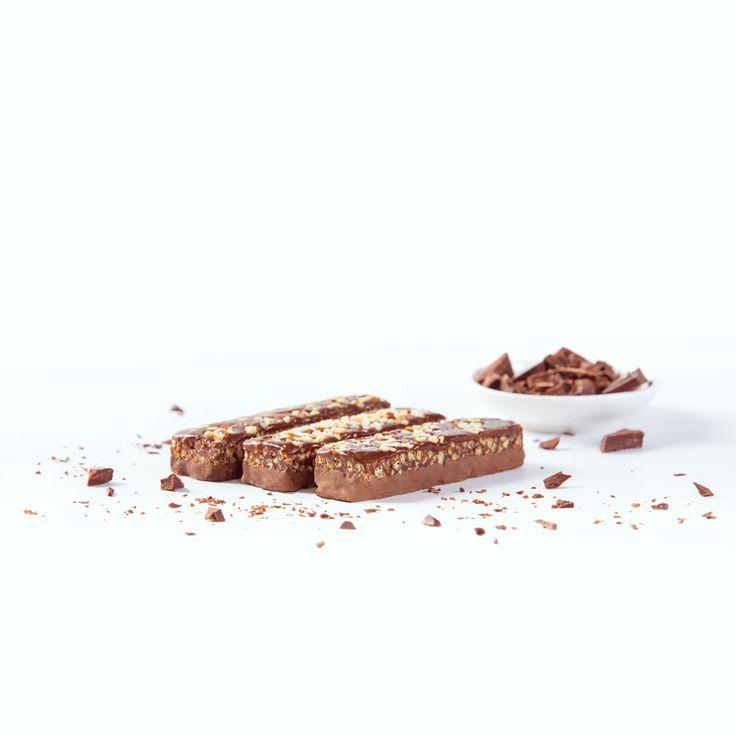 Barritas Vegefast, ricas en proteínas y fibra, reducidas en hidratos de carbono y grasas.