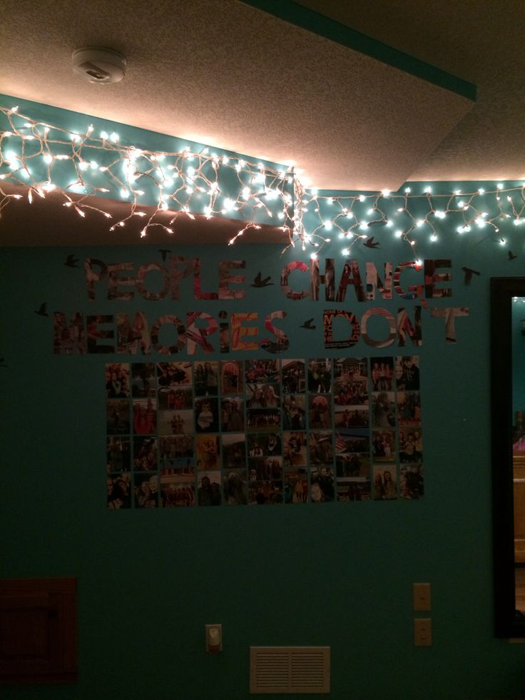 DIY tumblr room: Bedroom Room Decoration, Bedroom Picture Wall Ideas