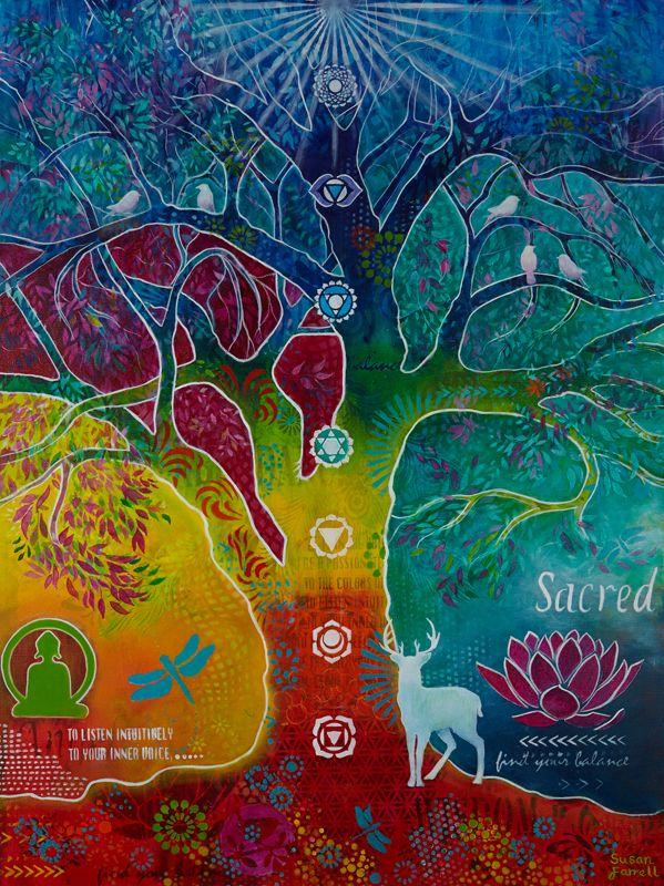 ૐ El Árbol del Conocimiento de los Chakras ૐ por Susan ...