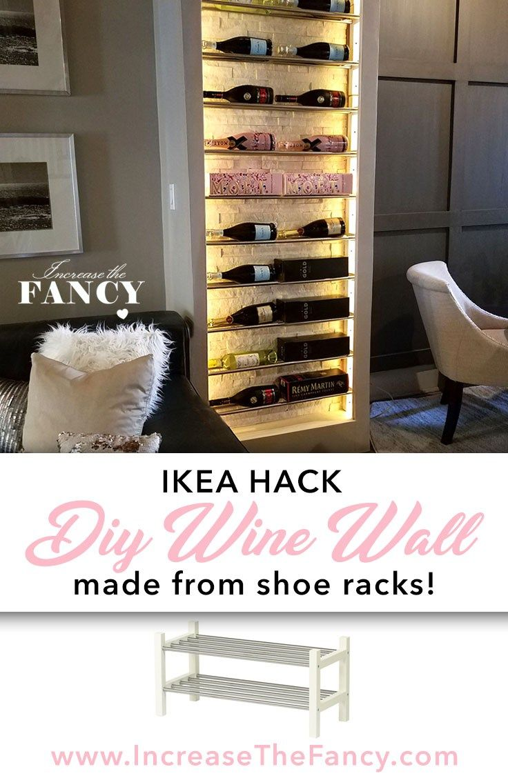 Learn how I made this wine wall