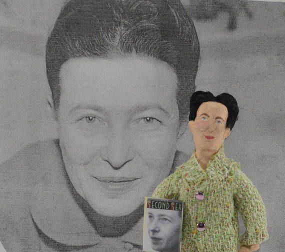 Feminist Writer Simone de Beauvoir Author Writer Political