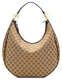 Gucci GG twinslarge hobo beige/ebony