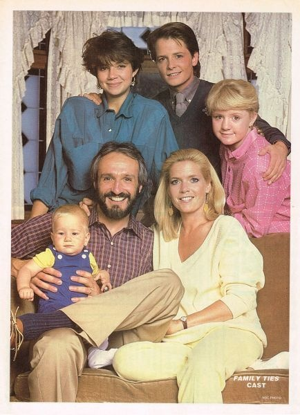 Family Ties. Alex P Keaton was the funniest character ever. His love for Nixon and Reagan still make me laugh.