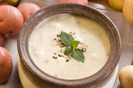Συνταγές για Σούπες / Σούπα Κρέμα Παρμαντιέ με Πατάτες / thefoodproject.gr