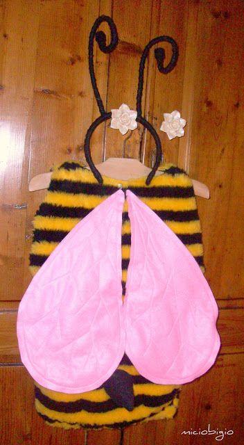 MICIOBIGIO: Costume da ape: tutorial facile facile