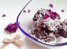 Čokoládovo-kokosová zmrzlina (z kokosového mléka)