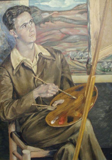 Benjamin palencia retrato de entrecanales 1946 musseo de - Pintores en palencia ...