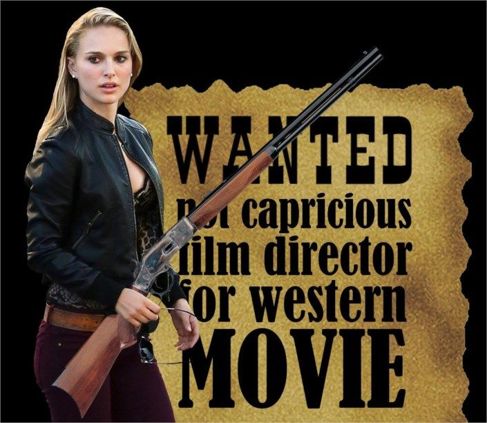 Natalie Portman in Jane Got a Gun Movie 2015