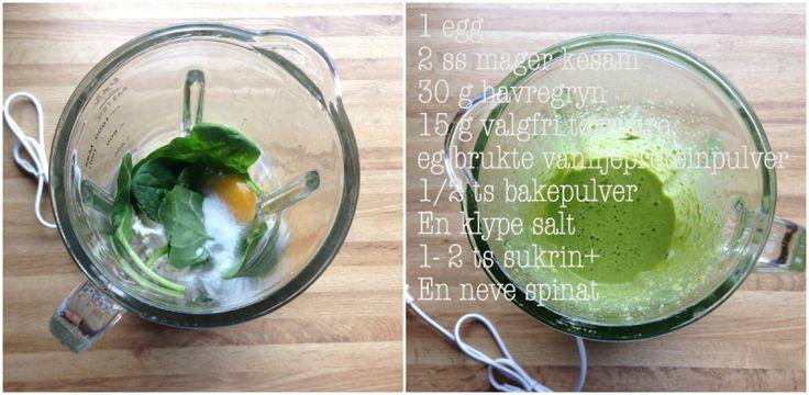 lindastuhaug | Grønne super-pannekaker
