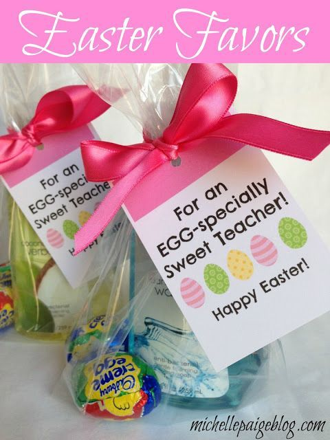 59 best easter images on pinterest easter bunny hoppy easter michelle paige easter favors for teachers friends and family negle Gallery