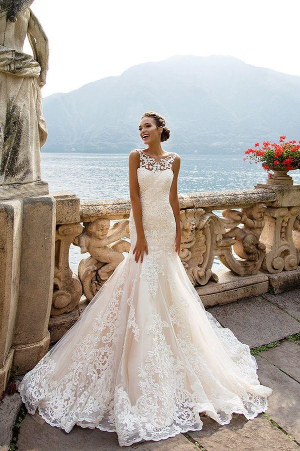 Milla Nova Bridal Wedding Dresses 2017 amalia / http://www.himisspuff.com/milla-nova-bridal-2017-wedding-dresses/12/