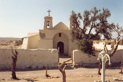 San Pedro de Atacama, the cactus church. www.selectlatinamerica.co.uk