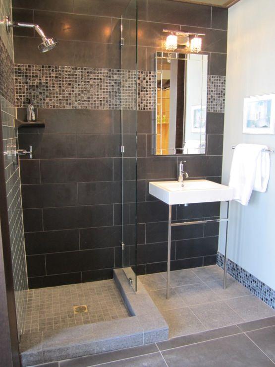 59 best Douche en céramique images on Pinterest   Large tile ...