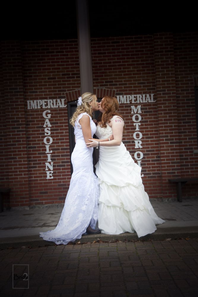 Beautiful Halloween Lesbian Wedding in Toronto Ontario at the Country Heritage Park!