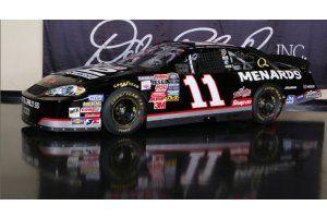 #11 Paul Menard Turtle Wax   Busch Series Dale Earnhardt Tribute