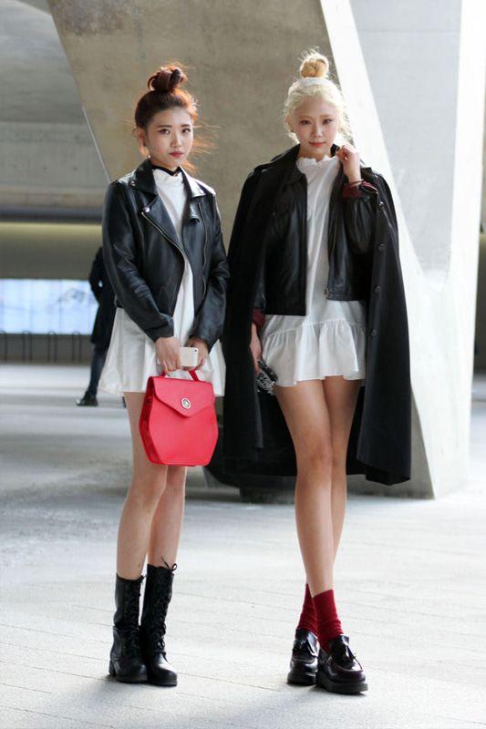 Seoul Fashion Week Fall Winter 2014 Streetstyles | Popbee - a fashion, beauty blog in Hong Kong.