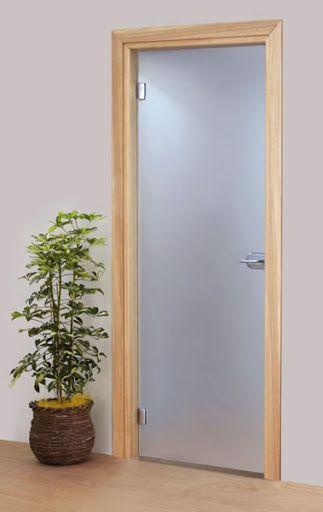 26 best puertas de vidrio images on pinterest sliding doors glass doors and glazed doors - Puertas correderas de vidrio templado ...