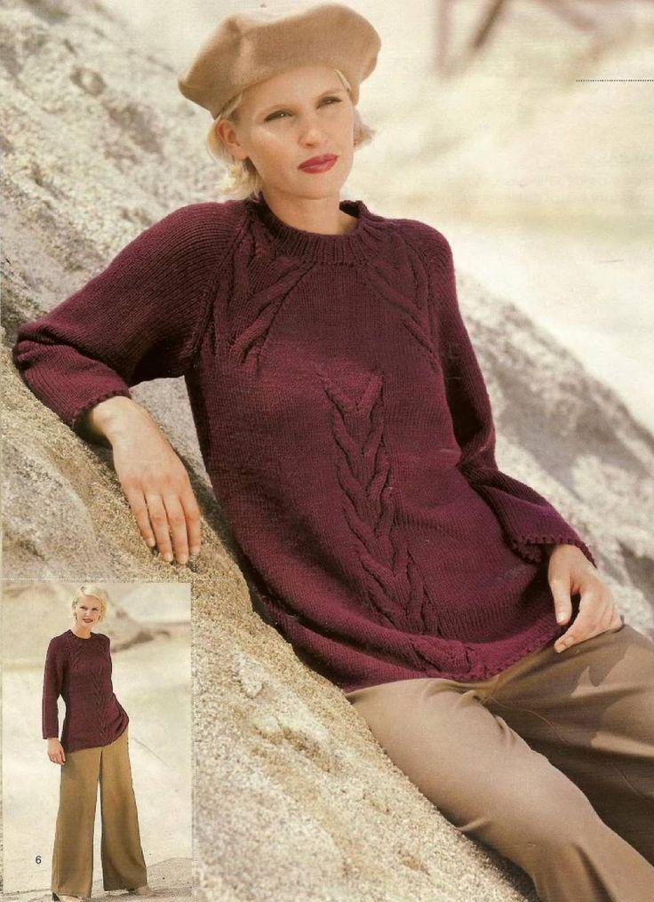 Бордовый пуловер. Обсуждение на LiveInternet - Российский Сервис Онлайн-Дневников