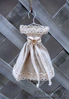 Φόρεμα vintage με δαντέλα