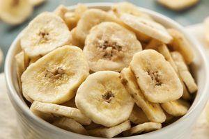 Nutrition of Bananas vs. Dehydrated Bananas