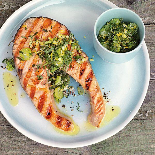 Fischkoteletts mit Gremolata