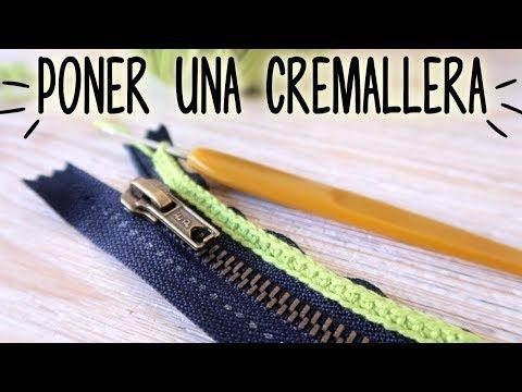 CROCHET SOS : Cómo poner una CREMALLERA en mi tejido | Ahuyama Crochet - YouTube
