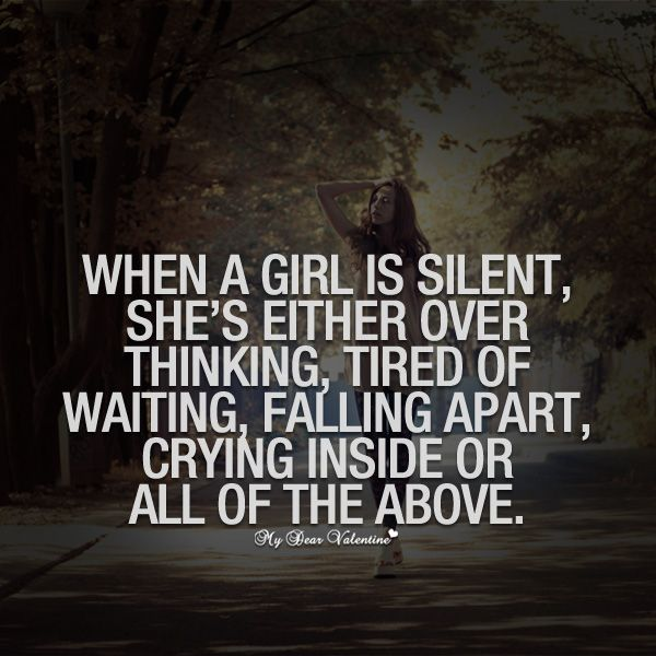 When A Woman Is Silent Quotes Women like sil