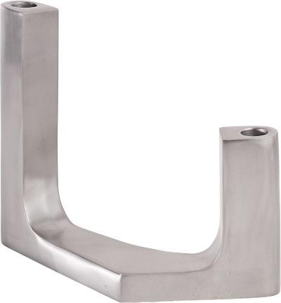 Angular lysestake i aluminium. -50% Før kr. 355,- Nå kr. 177,-