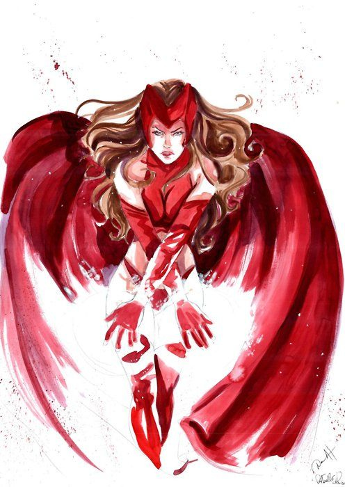 Scarlet Witch by Daniele Di Matteo