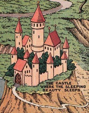 sleeping beauty s castle jaro hess land of make believe rh pinterest com
