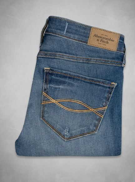 Abercrombie Alyssa Super Skinny High Rise Jeans