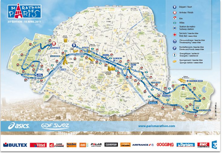 I am in the field for the 2012 Paris Marathon on April 15!