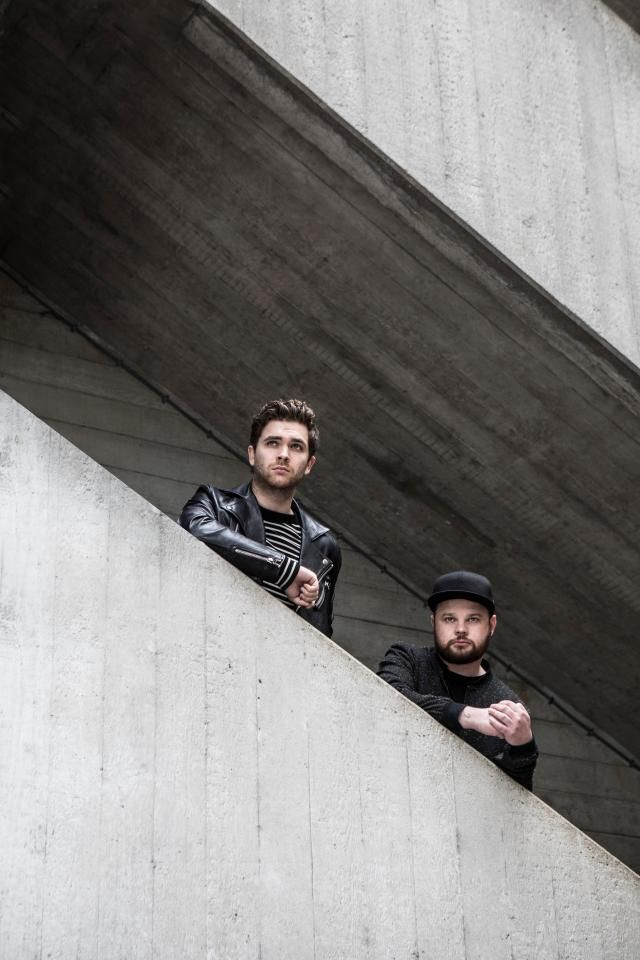 Brighton's Mike Kerr, left, and Ben Thatcher, aka Royal Blood, are about to release their second album