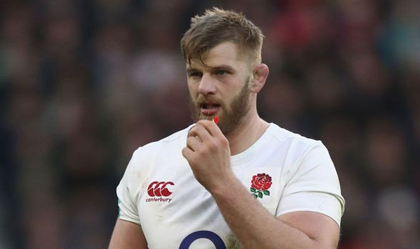 England dealt Six Nations injury blow: George Kruis suffers knee ligament damage