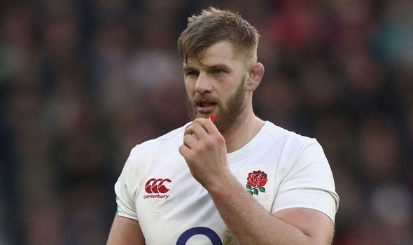 England dealt Six Nations injury blow: George Kruis suffers knee ligament damage