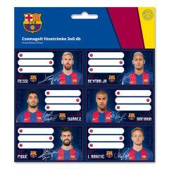 Menovky na zošity Barcelona 2 - 3 x 6 ks ARS