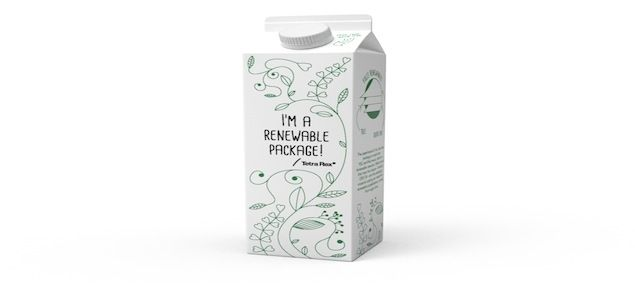 Tetra Pak Launches First Package Made From 100% Plant-Based Packaging Materials | Sustainable Brands