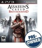 Assassin's Creed Brotherhood — PRE-Owned - PlayStation 3, 008888346258