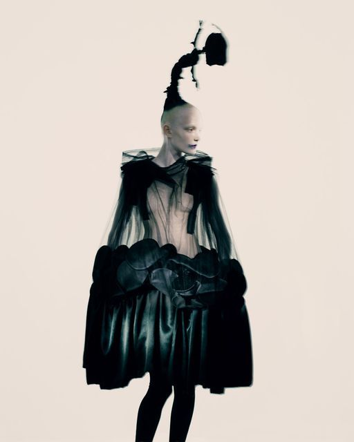 """Fashion's Purest Visionary: Rei Kawakubo"" The NY Times T Style Magazine Holiday 2013 Photographer: Paolo Roversi"