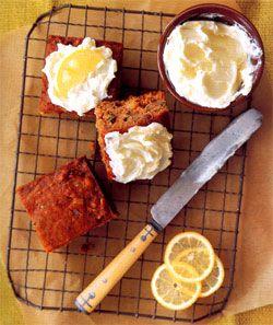 Recipe: Guinness Applesauce Cake with Lemon Icing - Recipelink.com