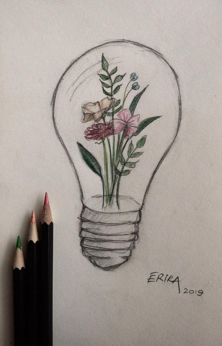 Idea Diy Ideen Pencil Art Drawings Art Drawings Sketches
