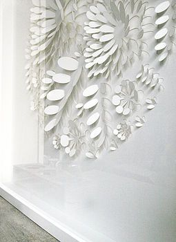 paper cut out - white on white! love it!