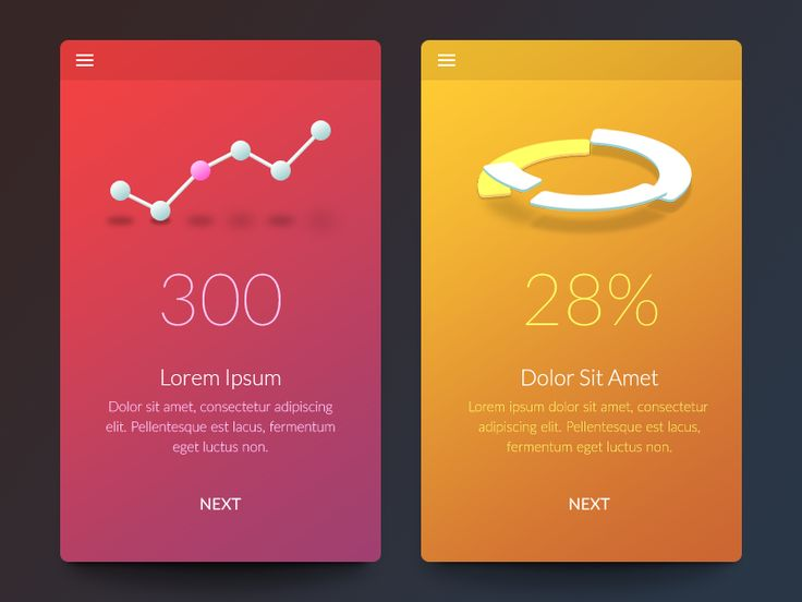 Data Visualization by Gal Shir http://dribbble.com/galshir