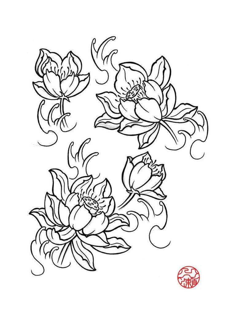 Photo Realistic Flower Tattoos Google Search: Japanese Floral Tattoo Designs - Google Zoeken