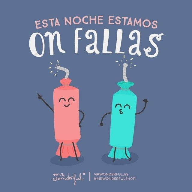 On fallas #mrwonderful