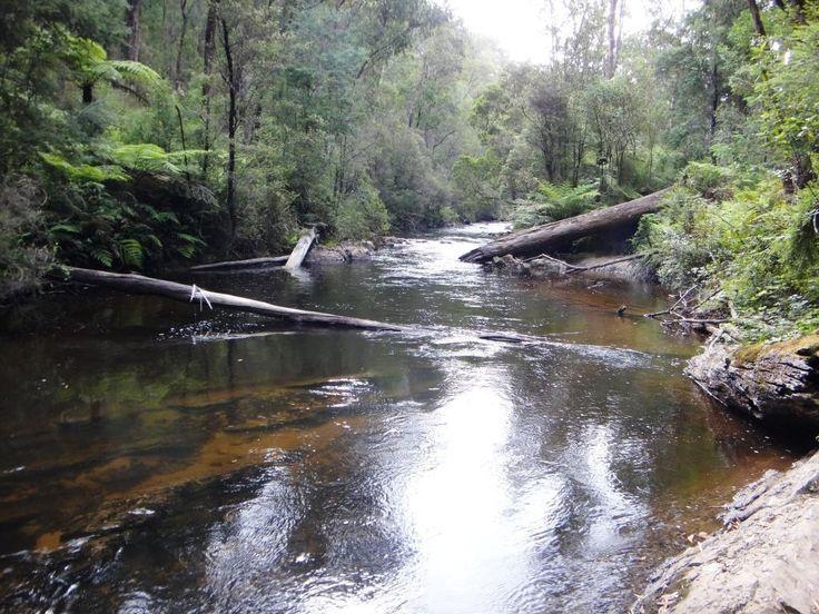 Gippsland Pack Rafting Routes: Gippsland, Victoria, Australia; Ultralight Hiking, Ultra Light Backpacking.