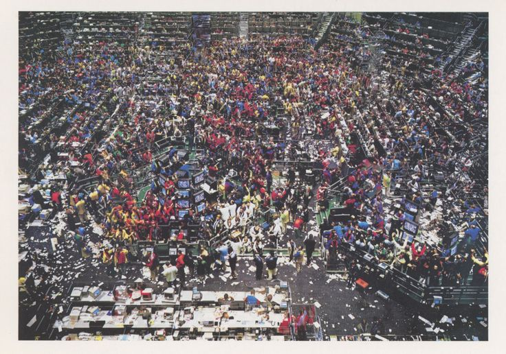 Chicago Board of Trade II, 1999. Photograph by Andreas Gursky