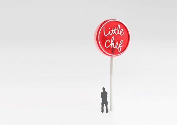 Little Chef / Rogers Design #logo #grafica #ristorante #insegna